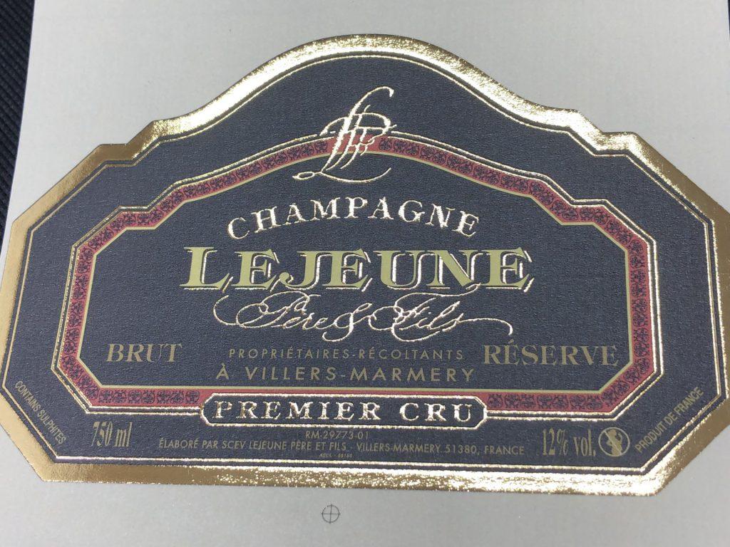 シャンパンラベル5